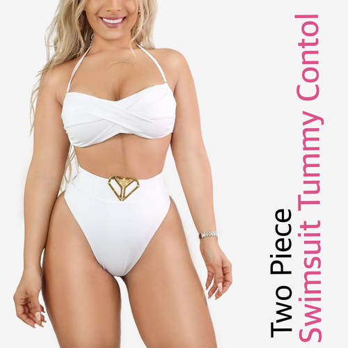 SWIMSUIT HIGH WAIST TUMMY CONTROL SET