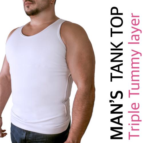 MEN'S  TANK TOP CAMI SHAPER