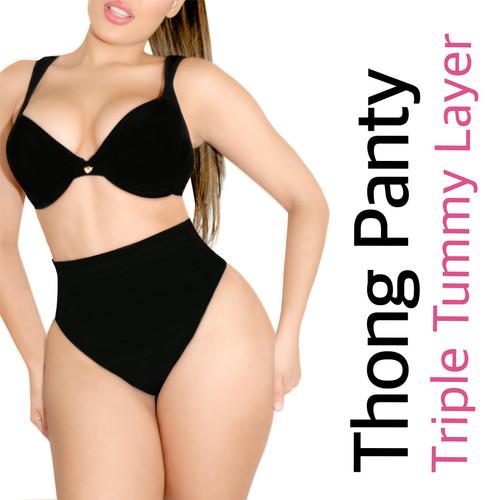 THONG PANTY TRIPLE TUMMY LAYER