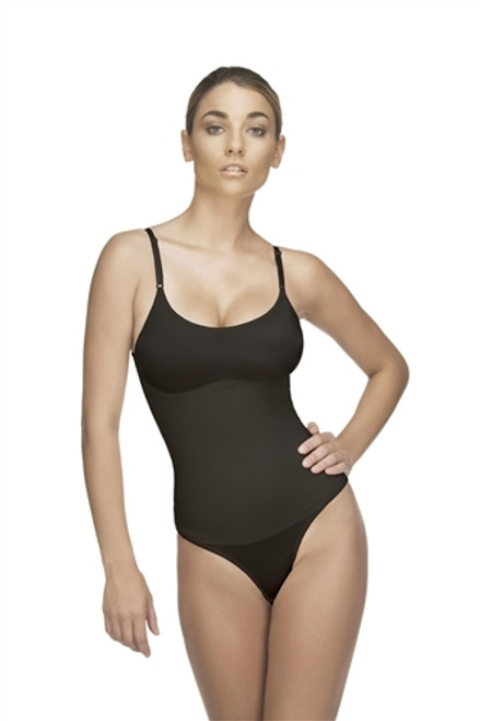 LEA Thong Body Suit - BLACK