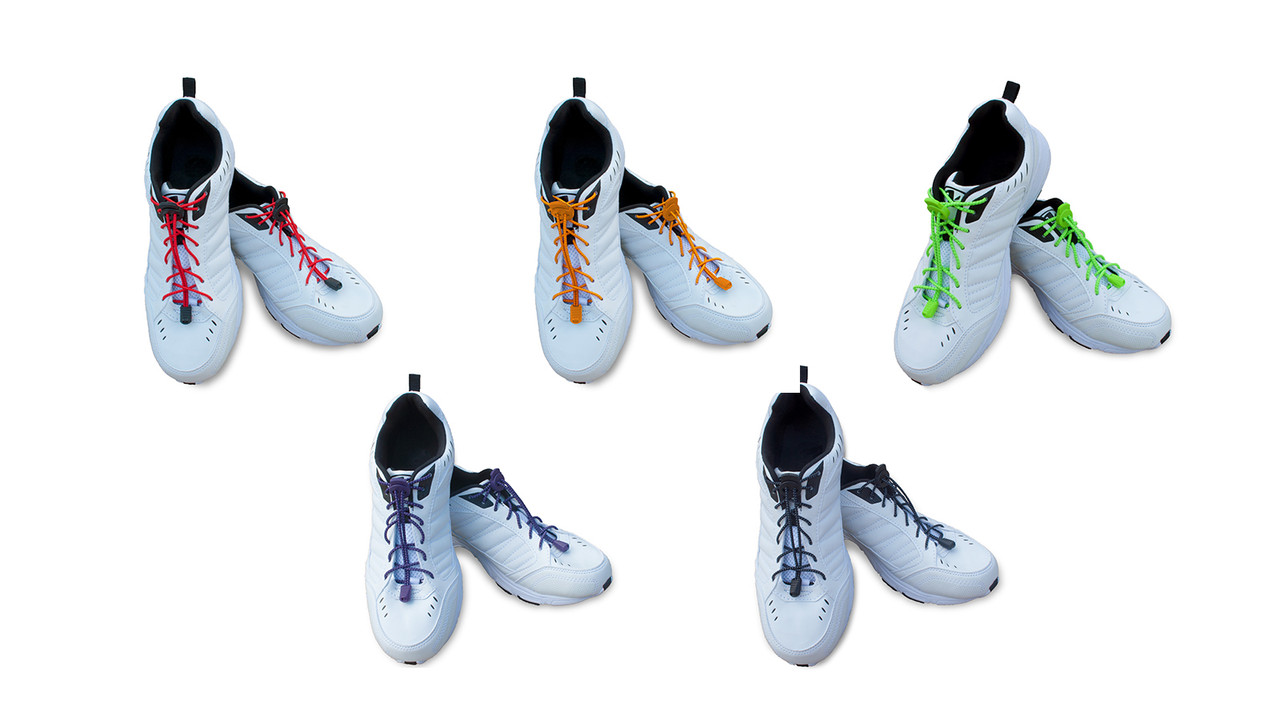 More of Me to Love® Flexible Elastic Shoelaces Are Great For the Whole Family