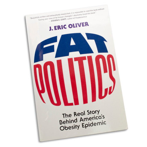 Fat Politics: The Real Story Behind America's Obesity Epidemic front cover