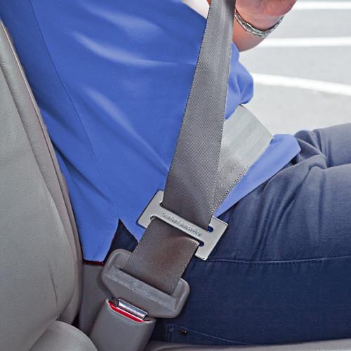 Frankie Seat Belt Adjuster Clip in use