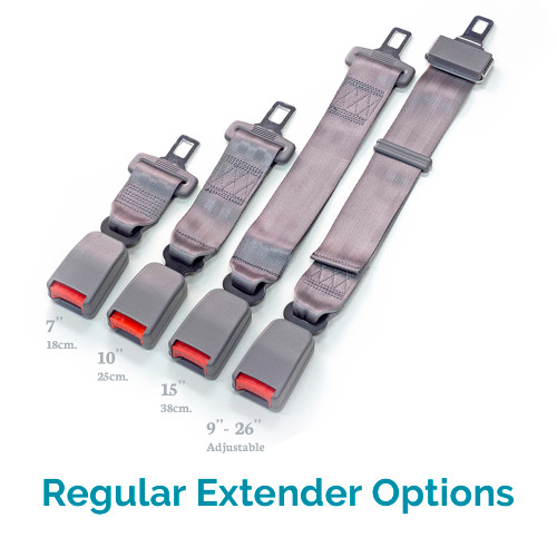 The Options For Gray Regular Car Seat Belt Extenders Your Jaguar