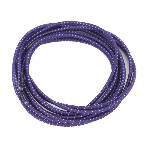 Purple Stretch Elastic Shoelaces