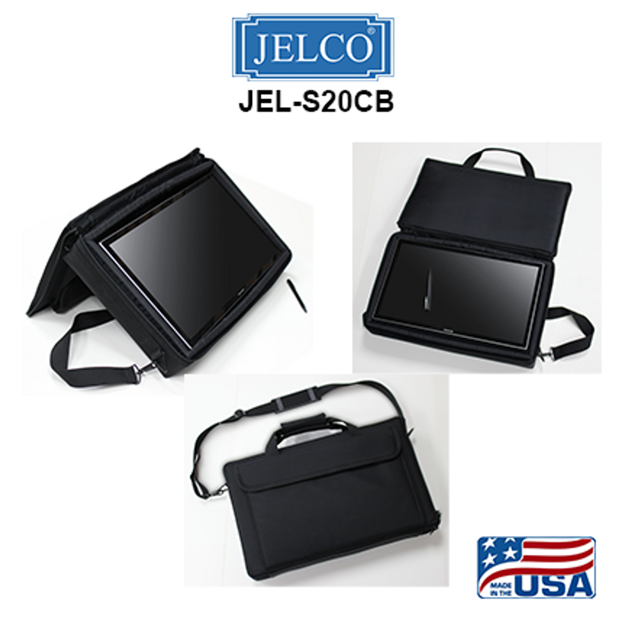 "JEL-S20CB: Carry Bag for Sharp LL-S201A 20"" Touch Screen"
