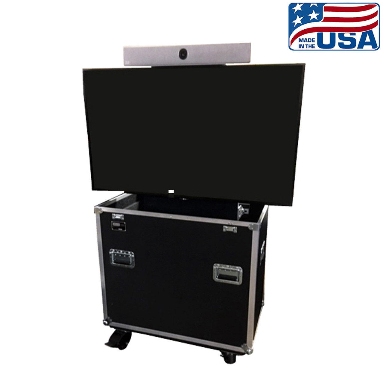 """RotoLift™ customized for 55"""" display with Cisco Room Kit"""