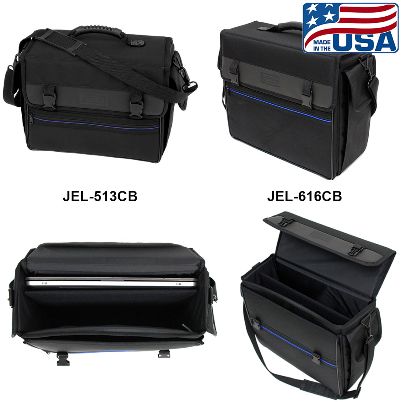 Padded Carry Bags for Projectors, Laptops, & Accessories