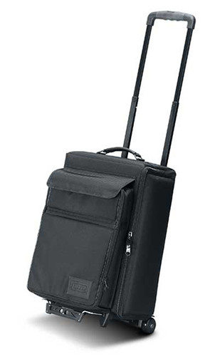 JEL-1312RP: Padded Hard Side Wheeled Projector Bag w/Removable Laptop Case