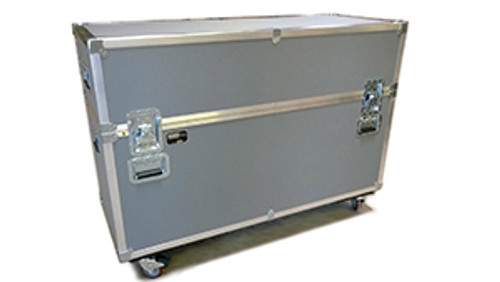 """JEL-FP55X2: Compact ATA Shipping Case for Two 50-55"""" Monitors"""