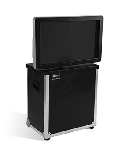 """ELU-32MKT: RotoLift™ Interactive Touch Table for 32"""" Flat Screen"""