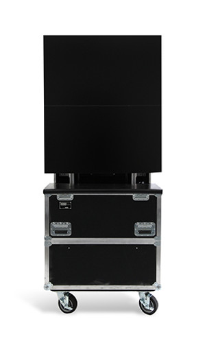 "ELU-60RX2: RotoLift™ Dual Lift Case for Two 60"" Flat Screens"