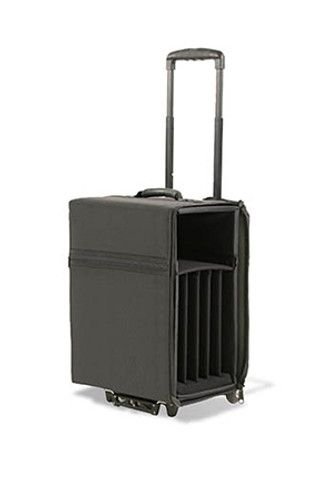 """JEL-1810W: Wheeled Travel Case  for up to five 15""""-16"""" Laptops"""