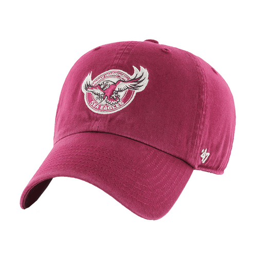 7edc0184f2c Manly Sea Eagles  47 Brand Clean-Up Cap - OzSportsDirect