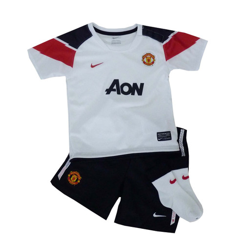 quality design 4e7ae a0f31 Manchester United FC Away Baby Jersey Shorts Set