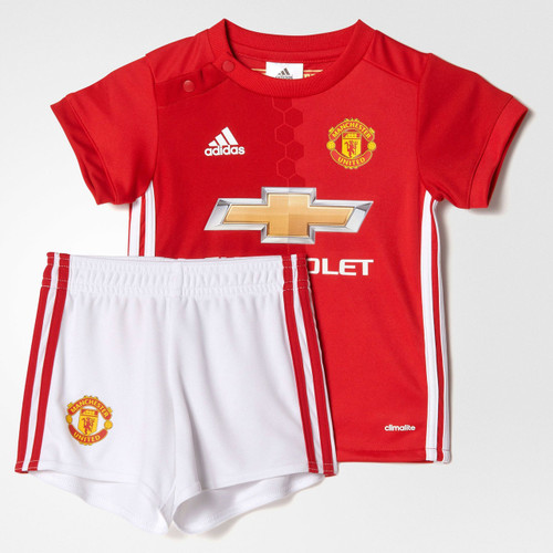 08ab898ab Manchester United FC Mini-kit Jersey   Shorts Set - OzSportsDirect