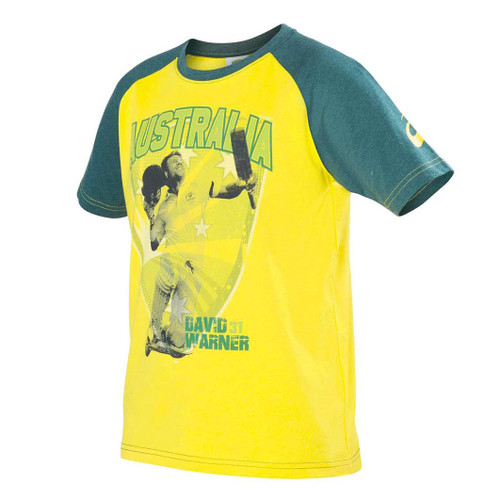 7978efec5fd Cricket Australia David Warner T-Shirt - Kids - OzSportsDirect