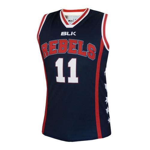 55d994c9601 Melbourne Rebels Basketball Singlet - OzSportsDirect