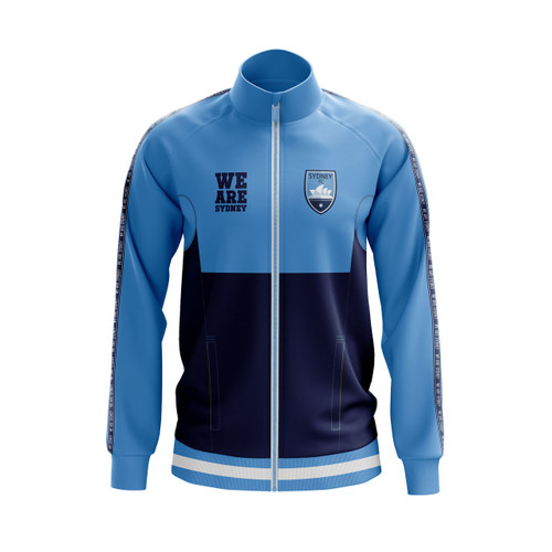3abc6fb5c Sydney FC 2018/19 Academy Track Jacket - Youth - OzSportsDirect