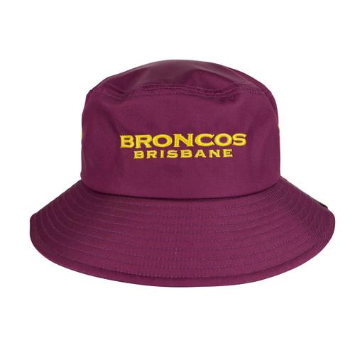 Brisbane Broncos 2019 Supporter Bucket Hat - OzSportsDirect 68c46c691d0