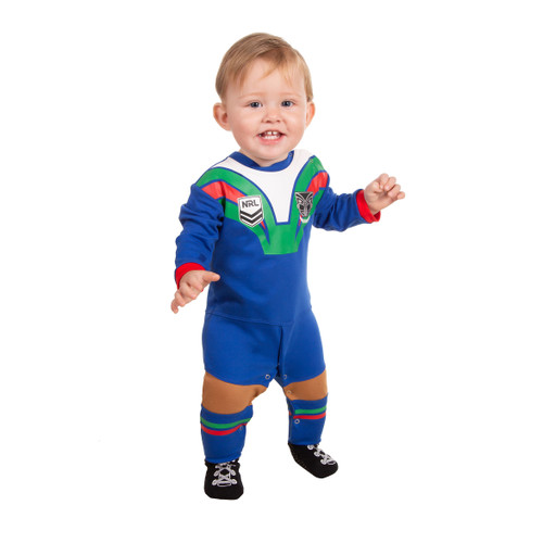 sports shoes dba43 c1ed0 NZ Warriors 2019 Baby Footysuit / Romper