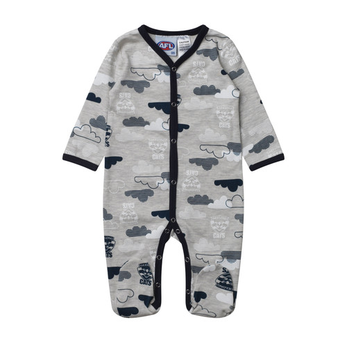 0815c97da Geelong Cats 2019 Baby Coverall / Romper