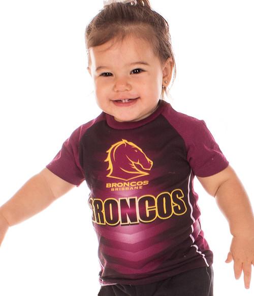 Brisbane Broncos Supporter T-Shirt - Kids - OzSportsDirect 39dbb8258
