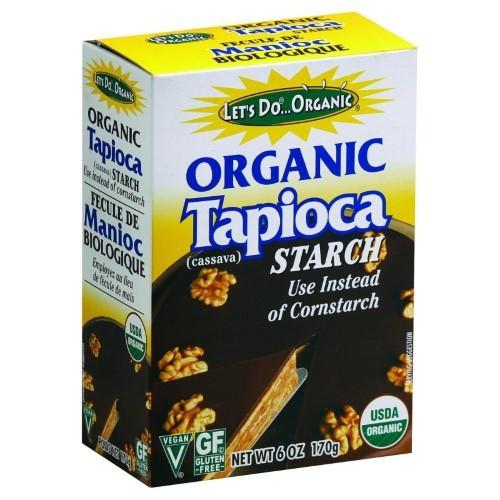 Organic Tapioca Starch (Flour)