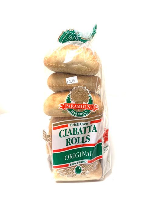 Ciabatta Rolls (Pack of 6)