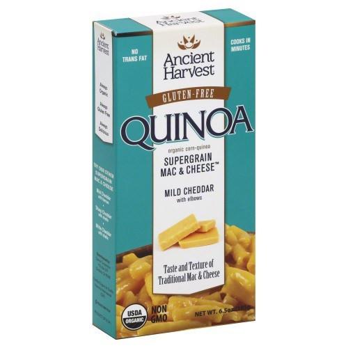 GF Quinoa Cheddar Mac & Cheese