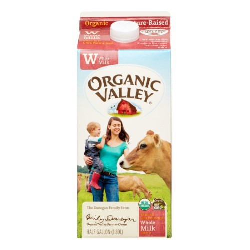 Pasture-Raised Whole Milk ORG