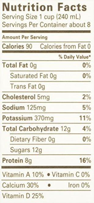 Fat Free Milk ORG