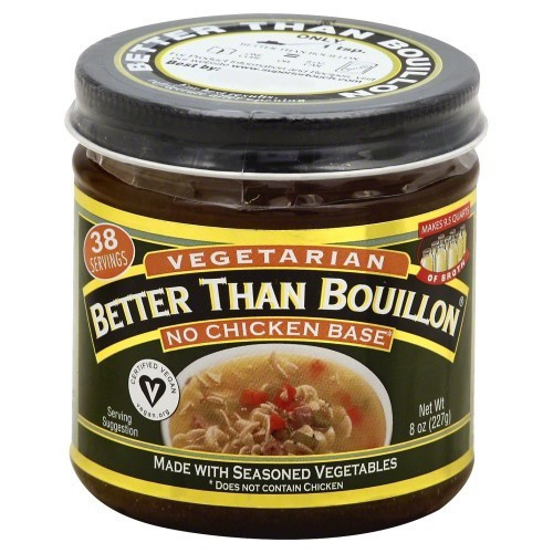 Meatless Chicken-style Soup Base (Vegan/Vegetarian)