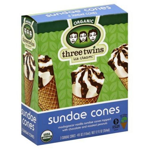 Cones Sundae 3Pk