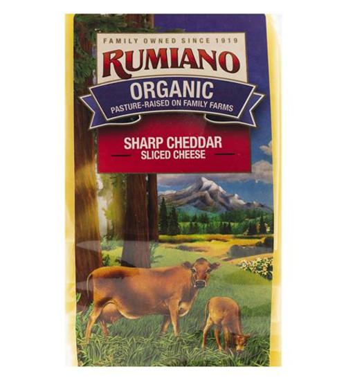 Sliced Sharp Cheddar Cheese ORG (1.5LB)