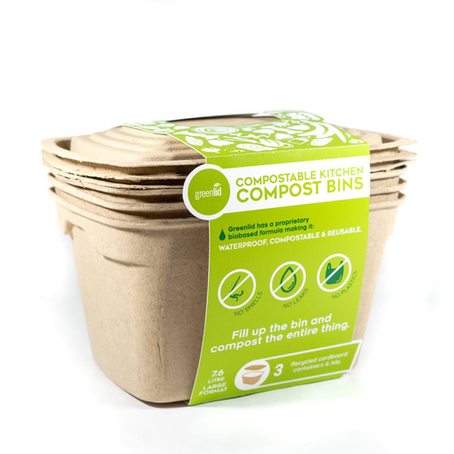 Food Waste Bin - Biodegradable