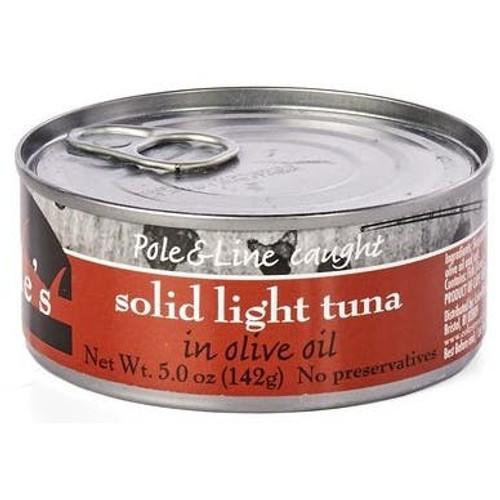 Solid Light Tuna in Olive Oil