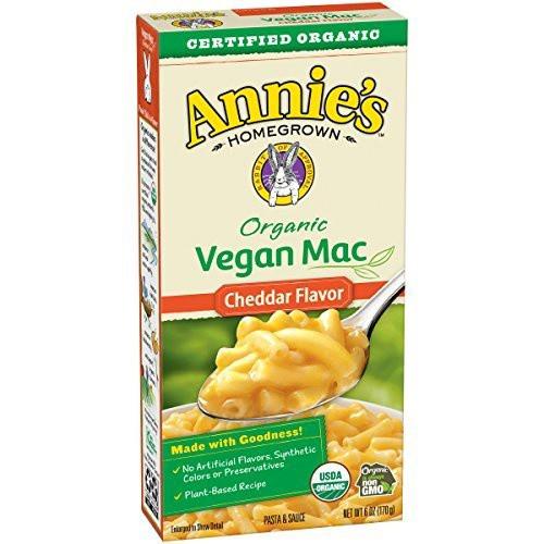 Organic Vegan Mac Cheddar