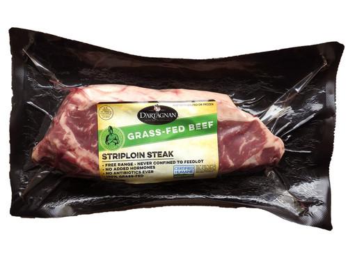 Grass-Fed Beef Striploin Steak