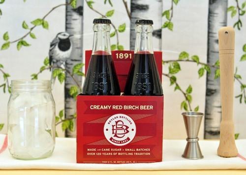 Boylan Bottling Co, Creamy Red Birch Beer, 4 Pk, 12 Ounce