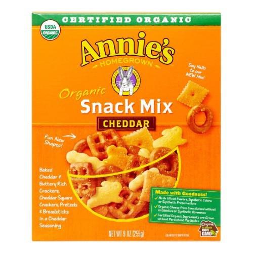 Annie's Organic Cheddar Snack Mix