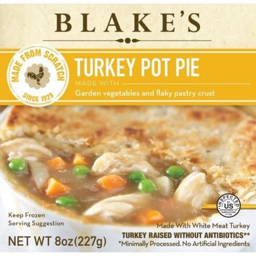 Blakes Turkey Pot Pie With Garden Vegetables All Natural 8 Oz.