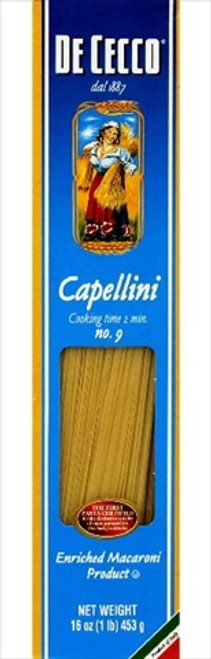 De Cecco, Enriched Macaroni Product, Angel Hair No. 9 Pasta