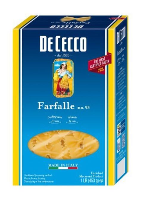 De Cecco, Farfalle No. 93