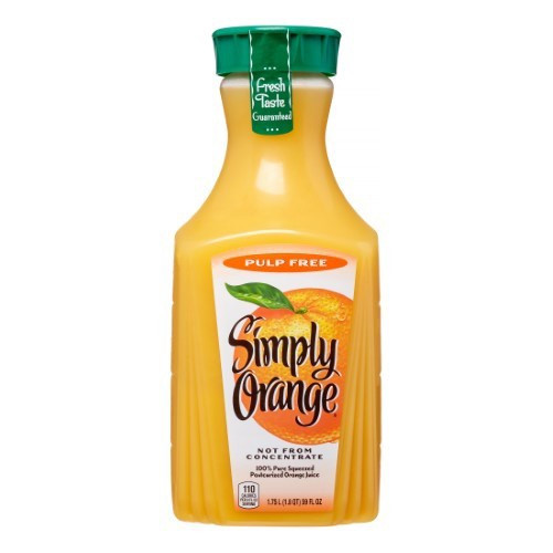 Pulp Free Orange Juice