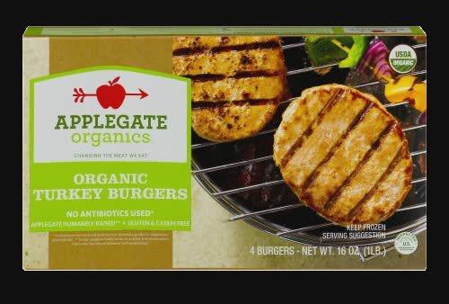 Organic Turkey Burgers, Turkey