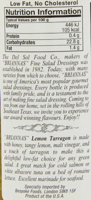 Lively Lemon Tarragon Dressing