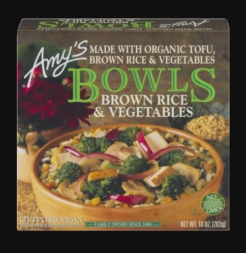 Bowls Brown Rice & Vegetables