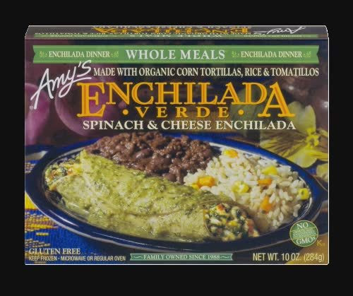 Amy's, Spinach & Cheese Enchilada