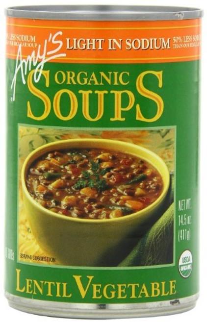 Lentil Vegetable Soup ORG